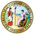 North Carolina State Great Seal — Stock Vector #55957387