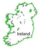 Ireland — Stock Vector