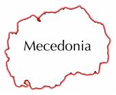 Macedonia — Vector de stock