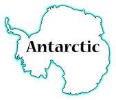 Antarctic — Stock Vector