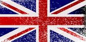 Grunge britse vlag — Stockvector
