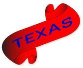 Texas Scroll — Vetorial Stock