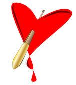 爱神的箭 — 图库矢量图片