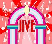 Jive — Stock Vector