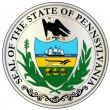 Great Seal of Pennsylvania — Vector de stock  #59472025