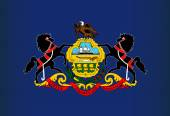 Pennsylvania State Flag — Stockvector