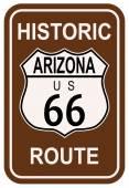 Arizona Historic Route 66 — Stock Vector