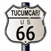 Tucumcari Route 66 Sign — Stockvektor