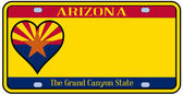 Arizona State License Plate — Wektor stockowy
