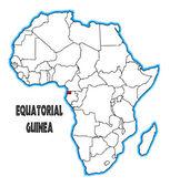 Equatorial Guinea — Stock Vector