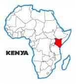 ケニア — ストックベクタ