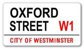 Oxford Street — Stock Vector