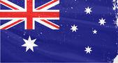 Australian Flag — Stock Vector