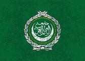 Flag of the Arab League — Vector de stock