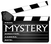 Mystery Clapperboard — Stock Vector