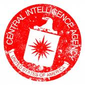 CIA Rubber Stamp — Stock vektor