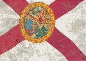Florida State vlag Grunge — Stockvector
