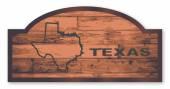 Texas träskylt — Stockvektor