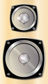 Music Speaker — Stock Vector