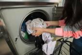 Laundry machine — Stock Photo