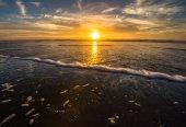 Ocean Beach Sunset — 图库照片