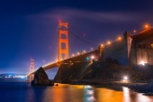 Foggy Golden Gate Bridge — Stock Photo