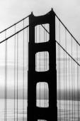 Shadow of Golden Gate Bridge — Foto de Stock