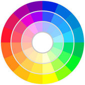 Circle of Colors — Stock Vector
