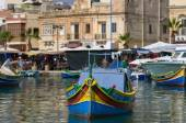 Puerto de Marsaxlokk — Foto de Stock