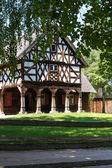 Polish historic village house — Stock Photo