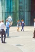 Apartment Luxury Nordstar Tower Moscow Business center August Heat — Stok fotoğraf