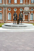 Monument to Russian architects Bazhenov and Kazakov  The Tsaritsyno — Stockfoto
