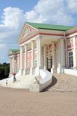Sphinx stairway Big house  Palace Russia Moscow Ensemble Kuskovo Estate graphs Sheremetevs eighteenth century — Stock Photo