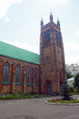St Andrew s Anglican Church  Moscow  Russia — Stock Photo
