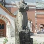 Постер, плакат: The monument to Pavel Tretyakov June