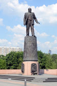 The Monument to Academician Korolev in Moscow — Stock Photo