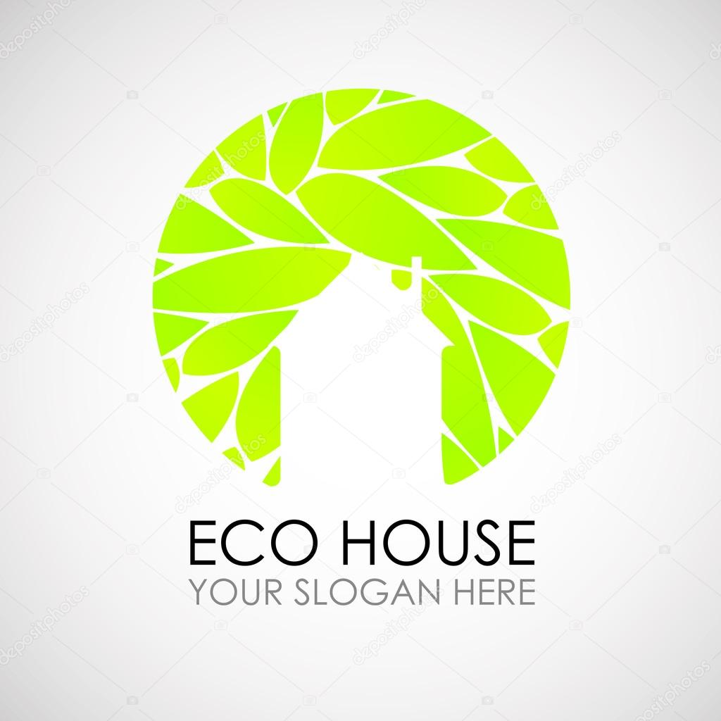 co house logo design. cological construction. co architecture ... - ^