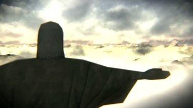 Christ the Redeemer — Stock Video