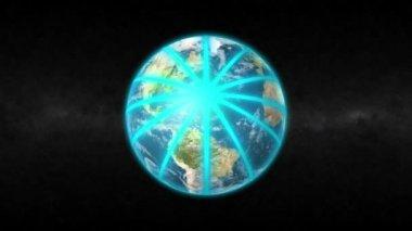 Globe Network — Stock Video