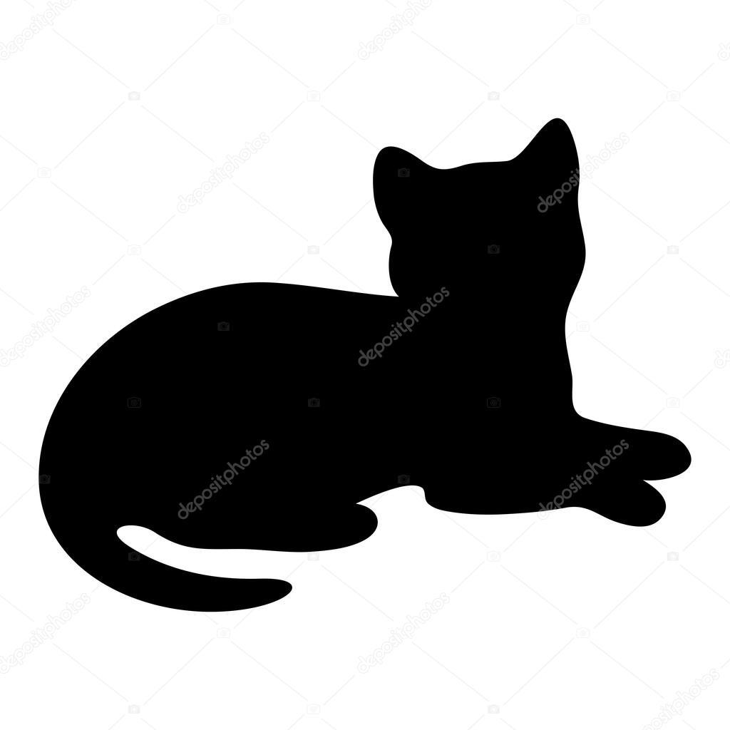 amor de silueta gato - photo #17