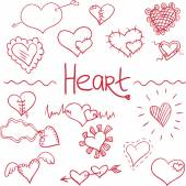 Heart vector — Stock Vector