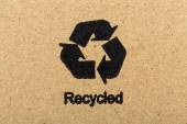 Recycled Symbol — Stock Photo