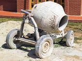 Cement mixer construction machinery — Foto de Stock