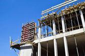 Výstavba nové budovy — Stock fotografie