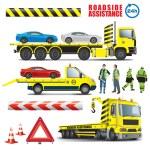 Roadside assistance — Stock Vector #54696731