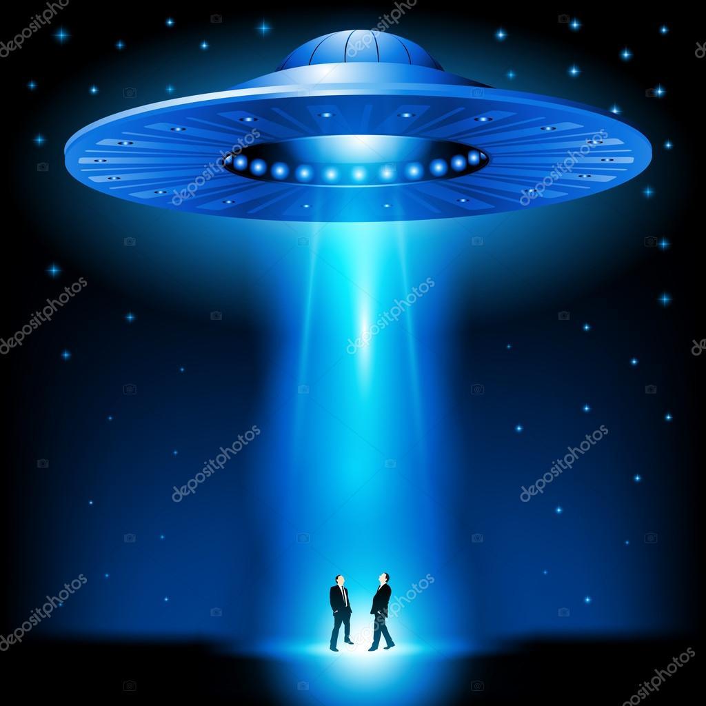 UFO invasion — Stock Vector © Route55 #57577153