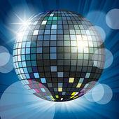 Mirror disco ball — Stock Vector