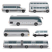 Bus collection — Stockvector
