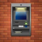 Bank ATM — Stock Vector