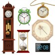 Different types of clocks — 图库矢量图片 #70758681